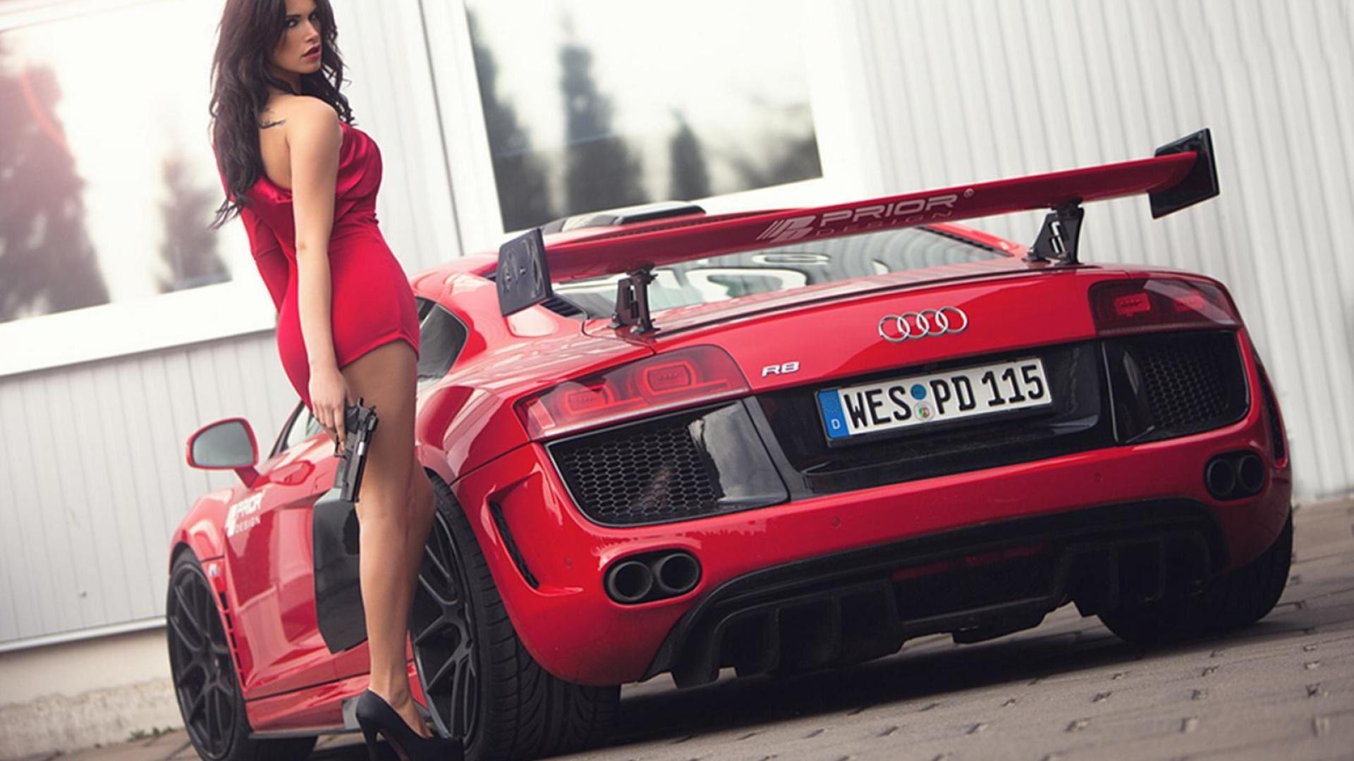 Фото девушки и автомобили 4 фотография